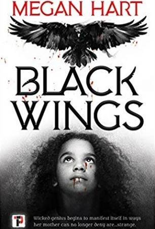Black-Wings-cover-Megan-Hart-horror-book-review-Flame-Tree-Press