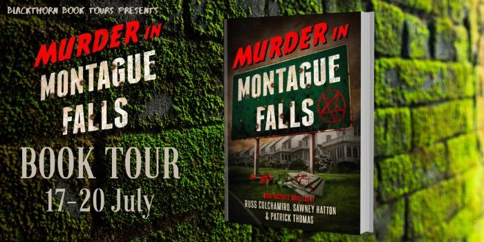 Murder in Montague Falls Tour Banner